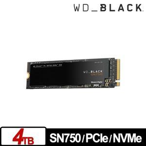 WD 黑標 SN750 4TB M . 2 2280 PCIe SSD
