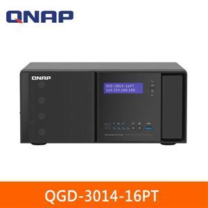 QNAP QGD - 3014 - 16PT - 8G 桌上型智能終端 PoE交換器
