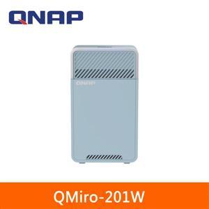 QNAP QMiro - 201W新世代三頻 Mesh Wi - Fi SD - WAN 路由器
