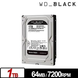 WD1003FZEX 黑標 1TB 3 . 5吋電競硬碟