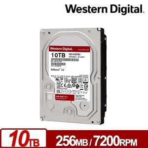 WD101EFBX 紅標Plus 10TB 3 . 5吋NAS硬碟