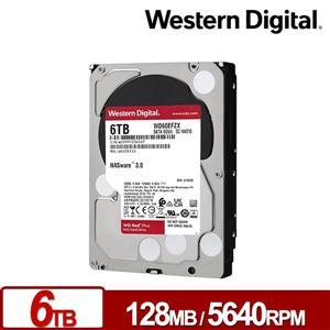 WD60EFZX 紅標Plus 6TB 3 . 5吋NAS硬碟