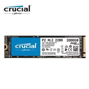 Micron Crucial P2 2TB ( PCIe M . 2 ) SSD