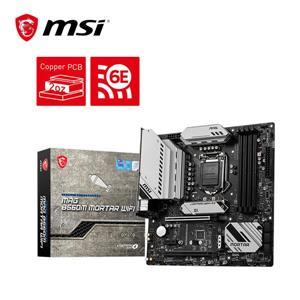 微星MSI MAG B560M MORTAR WIFI Intel 主機板