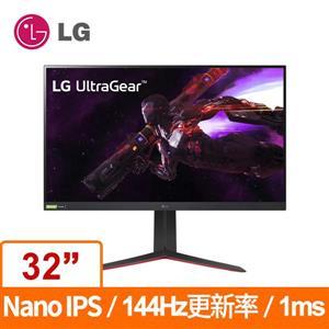 LG 32型 32GP850 - B (黑/寬)(電競)螢幕顯示器