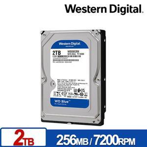 WD20EZBX 藍標 2TB 3 . 5吋SATA硬碟