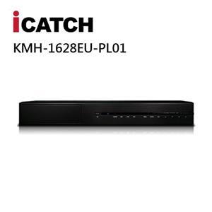 ICATCH KMH - 1628EU - PL01 16CH 500萬畫素多合一DVR監控錄影主機