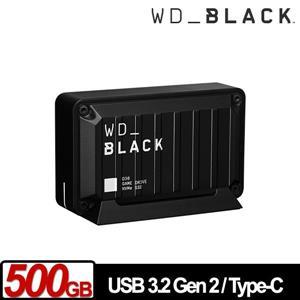 WD 黑標 D30 Game Drive SSD 500GB 電競外接式SSD