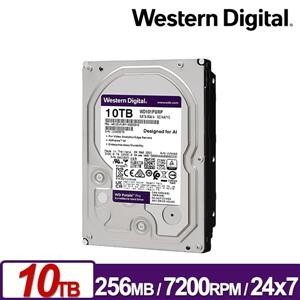 WD101PURP 紫標Pro 10TB 3 . 5吋監控系統硬碟