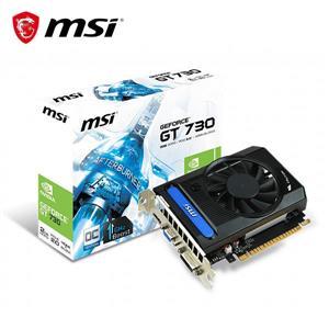 微星MSI N730K - 2GD3 OCV5 PCI - E顯示卡