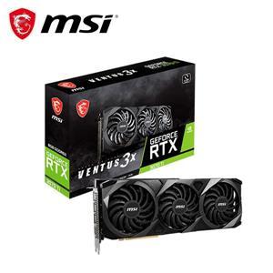 微星MSI RTX 3070 Ti 8G VENTUS 3X OC PCI - E顯示卡
