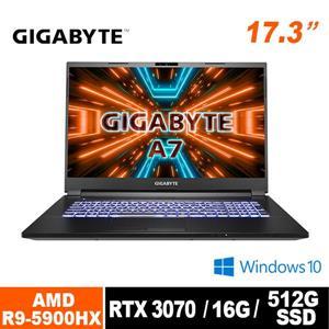 技嘉 GIGABYTE A7 X1 - CTW1130SH 17 . 3吋筆電
