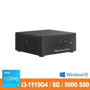 Genuine捷元 Mini PC (採用Intel® NUC 套件)(11代)