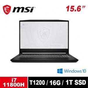 微星 MSI WF66 11UI - 482TW - BB71180H16GXXDX10P 15 . 6吋筆電