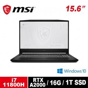 微星 MSI WF66 11UJ - 481TW - BB71180H16GXXDX10P 15 . 6吋筆電