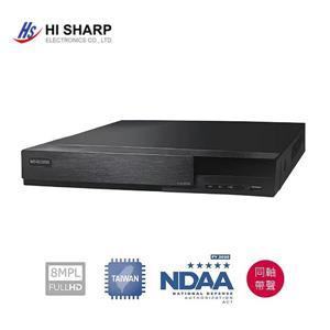 昇銳Hi - SharpHS - HP8321 8CH 800萬畫素多合一DVR監控錄影主機
