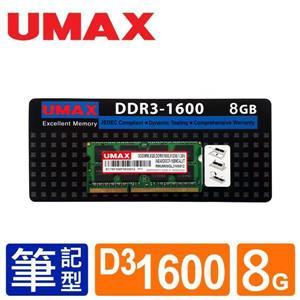 UMAX NB - DDR3 1600 8GB RAM