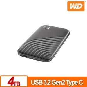 WD My Passport SSD 4TB(灰) 外接式SSD(2020)