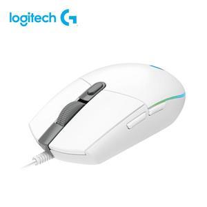 羅技 G102炫彩遊戲滑鼠-白