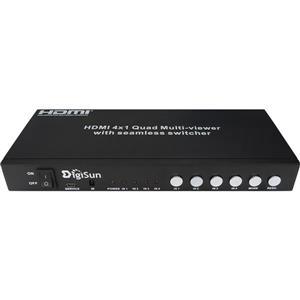 GE MV413 4路HDMI畫面分割器(無縫切換)