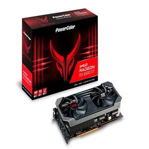 撼訊 RX 6600 XT Red Devil OC RGB 8G GDDR6 128bit 顯示卡