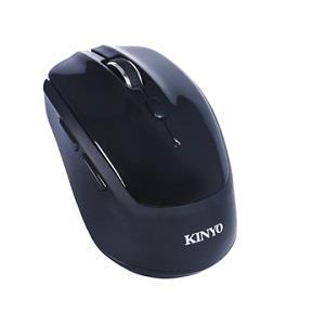KINYO GBM1820B藍牙2 . 4G雙模無線滑(黑)